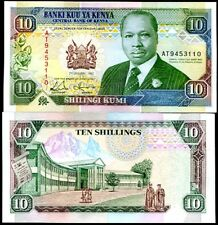 KENYA 10 SHILLINGS 1992 P 24 UNC