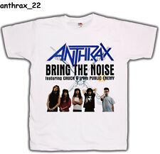 ANTHRAX   white T-shirt Printed