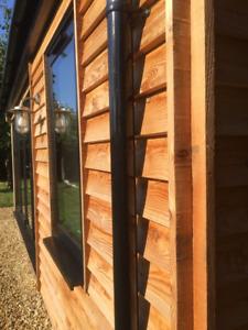 English Larch Feather edge Cladding - Stunning English Timber - Sample