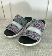 NEW Skechers Sandals Women's On The GO 600 Bedazzling Slide Sandals Size 7