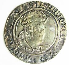 King Henry VIII Tudor Silver Groat of London Laker Bust type 'D' 1522 - 1544 A.D