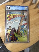 Superman 105 CGC 6.5 OW/W Golden Age Key DC Comic NICE RARE