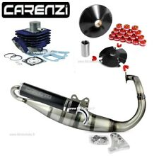 Kit Cylindre Variateur Pot d'Échappement Carenzi Peugeot Buxy Trekker Zenith 50