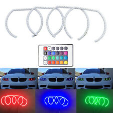 RGB Remote Led DRL Angel Eyes For BMW F30 E90 E92 M3 M4 kit SMD Halo Ring Light