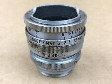 KODAK Cine Anastigmat 15mm f/2.7 Lens w/ C-Mount Adapter 4/3