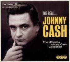 Johnny Cash The Real 3cd 6 Original Albums Bonus Tracks / Country Music