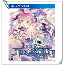PSV Moe Chronicle JPN / 限界凸记 萌萌编年史 中英文版 SONY PlayStation VITA RPG Games Compile