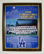 Los Angeles Dodgers 1988 World Series Championship Plaque by Healy Awards