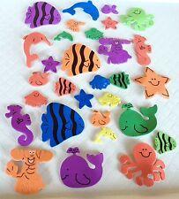 Under the Sea Foam Stickers