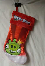 Red Angry Birds Green Pig Christmas Stocking