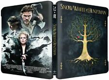 Snow White and The Huntsman Limited Edition STEELBOOK BLURAY DVD UV USA NEW