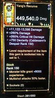 Diablo 3 RoS Ps4 Modded Demon Hunter Ancient Legendary Bow and Rare Quiver