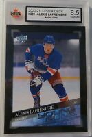 ALEXIS LAFRENIERE 2020/21 Upper Deck UD Rookie Card Young Guns #201 KSA 8.5 NMM+