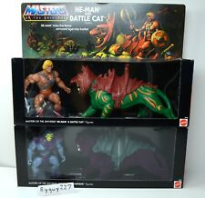 MOTU, Commemorative Battle Cat & He-Man, Skeletor Panthor, sealed box, MISB MOC