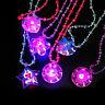 Cartoon Tiere Herz Blumen Leuchten Led Blinkendes Halsketten Anhänger Sale