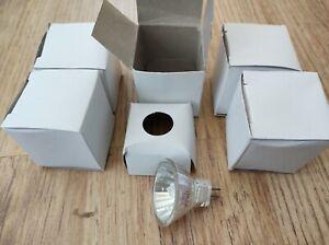 MR11 12V 20W 36° Halogen Light Bulbs Low Voltage bulbs , Pack Of 5 , Brand New