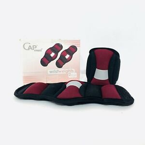 Cap WRIST WEIGHTS ARM Training Pair Running Exercise Comfort 2 Lbs (1lb Each)