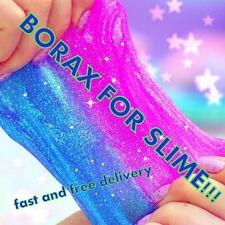Borax-SLIME ACTIVATOR-Perfect for SLIME 90g FAST& FREE DELIVERY!!!!