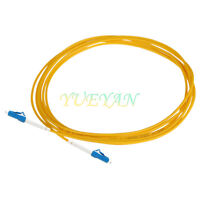 100M LC/UPC to LC/UPC Fiber Patch Cord Jumper Cable SM Simplex