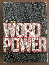 Board Game, Word Power, Avalon Hill, 1967