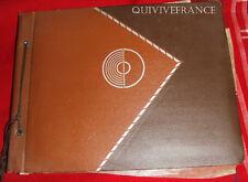ALBUM 154PHOTOS + 114 CP PROVENCE COTE D'AZUR ALPES ANNECY GENEVE DIJON 1936
