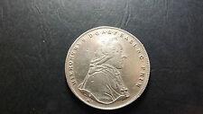 1794 Austrian Salzburg Archbishopri-  Hieronymus Count Colloredo Silver Thaler