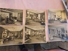 15 Original 1920 Architectural photos interior design decorator approx 8x10