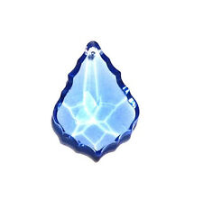 Lot of 10- 38mm Light Blue Sapphire French Pendant Asfour Crystal Prisms CCI