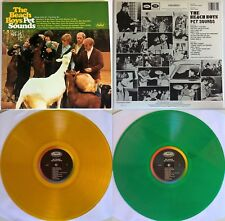 THE BEACH BOYS PET SOUNDS MONO & STEREO 2LP LIMITED COLORED VINYL