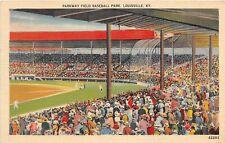 F75/ Louisville Kentucky Postcard Linen  1939 Parkway Baseball Stadium