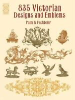 835 Victorian Designs (Dover Design Library) (D... by Palm & Fechteler Paperback
