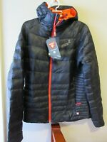Mens New Inov-8 Thermoshell Pro Insulated Hoody Jacket Size Medium Color Black