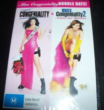 Miss Congeniality 1 & 2 + Armed And Fabulous (Australia Region 4) 2 DVD – New