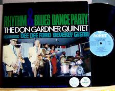 Don Gardner Quintet - Rhythm&Blues Dance Party - 1965 SW  Sonet SLP-47   LP vg+