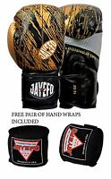 GEL BOXING GLOVES PUNCH BAG SPARRING MUAY THAI KICK MMA STRIKE SPEED 16OZ FOCUS