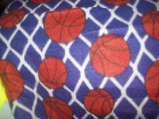 Basketball nets purple 45x60 great gift fleece personalized Blanket