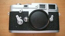 Leica M3 Film Rangefinder Camera Body Silver in mint condition just serviced