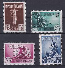 DR 1943 Hilfe für die Serbischen Kriegsinvaliden Postfrisch ** MNH LESEN !!!!