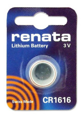 Renata Lithium Battery 3V Cr1616 Swiss Made - Electrical Accessory