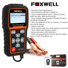 Foxwell 12V 24V Car Truck Battery Tester Load Charging Cranking System Test Tool