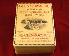 Glenmorangie Single Highland Malt Whisky Tin & Glass New Old Stock (NO ALCOHOL)