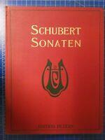 Schubert Sonaten Leipzig C.F.Peters B26552