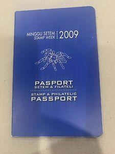 Malaysia 2009 stamp week araknid philatelic  passport