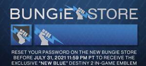 destiny 2 Exklusiv New Blue Emblemen Abzeichen (No Code ) Beschreibung Lesen
