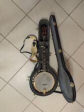Fender FB59 Walnut 5 String Gold Banjo