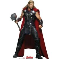 Marvel Avengers Characters LIFESIZE CARDBOARD CUTOUT Standee- AGE OF ULTRON
