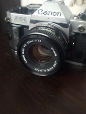 Canon AE-1 Program mit 50 mm 1.8 und 70-210 1:4  Kein Husten voll funktionsfähig