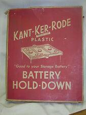 1950s Kant-Ker-Rode Car Battery Hold-Down Original Box Van Brode Milling Co