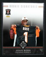 JOHN ROSS 2017 Panini Rookie Premiere Majestic 8x10 RC Auto Signed Bengals