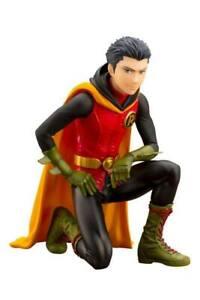 Dc Comics Ikemen PVC Statue 1/7 Damian Robin Incl. Cabeza Con Capucha